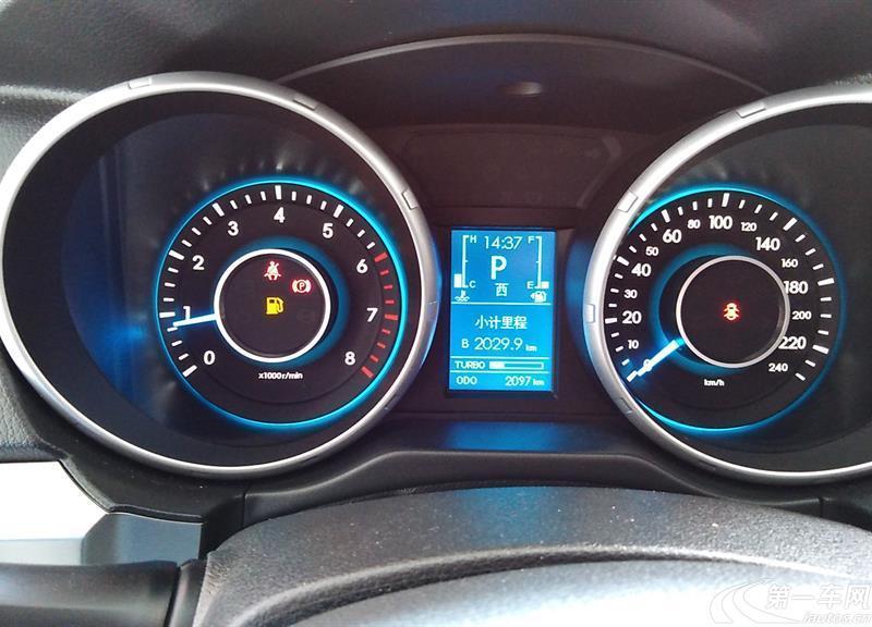 北京汽车绅宝X65 2015款 2.0T 自动 舒适版 (国Ⅴ)