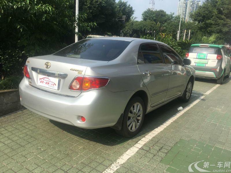 丰田卡罗拉 2008款 1.8L 自动 GL-i天窗特别版 (国Ⅲ带OBD)