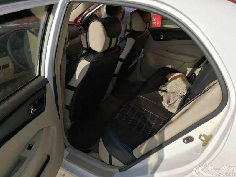 吉利全球鹰GC7 2013款 1.5L 手动 舒适型 (国Ⅳ)