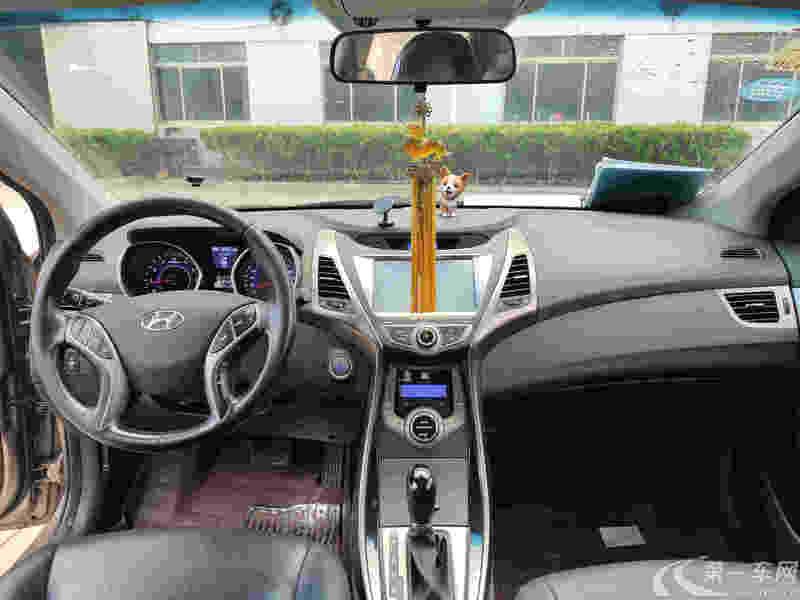 现代朗动 2013款 1.6L 自动 DLX尊贵型 (国Ⅳ)
