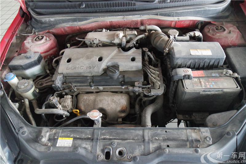 现代雅绅特 2011款 1.4L 手动 舒适型 (国Ⅳ)