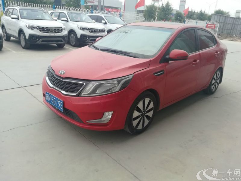 起亚K2 2011款 1.6L 自动 4门5座三厢车 Premium (国Ⅳ)
