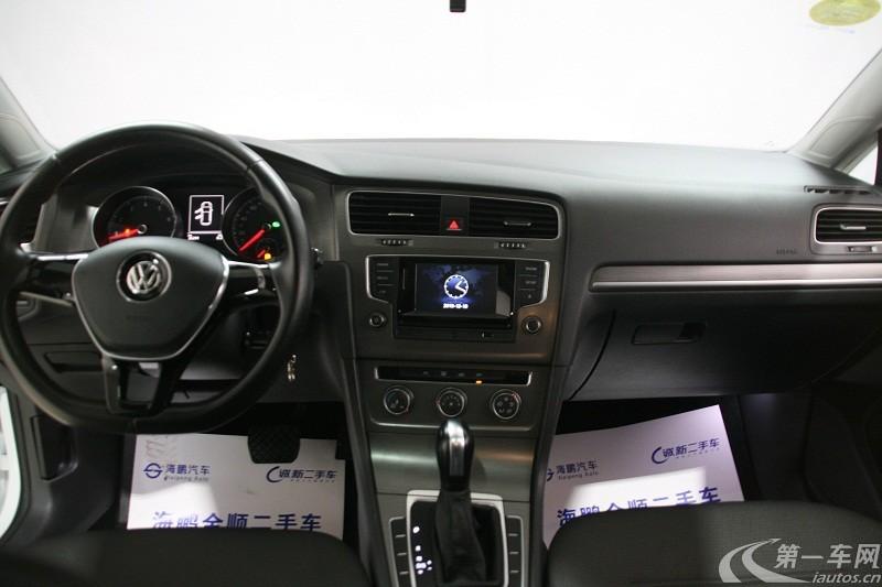 大众高尔夫 2018款 1.4T 自动 汽油 230TSI豪华型 (国Ⅴ)