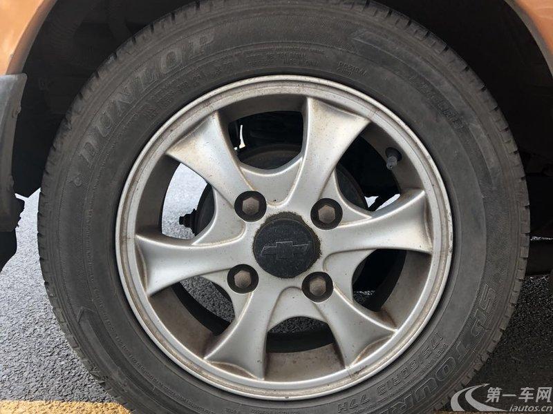 雪佛兰乐驰 2009款 0.8L 手动 标准型 (国Ⅲ)