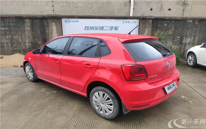 大众POLO 2016款 1.6L 手动 5门5座两厢车 舒适版 (国Ⅴ)