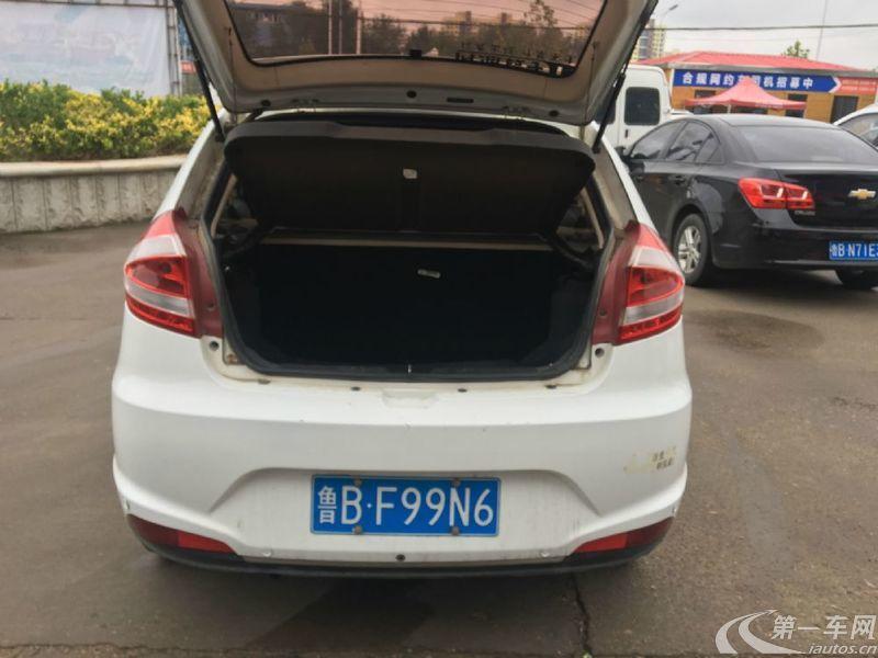 奇瑞風云2 2016款 1.5L 手動 5門5座兩廂車 舒適版 (國Ⅴ)