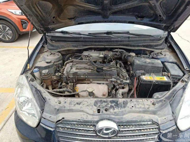 现代雅绅特 2009款 1.4L 手动 简配E1型 (国Ⅲ)