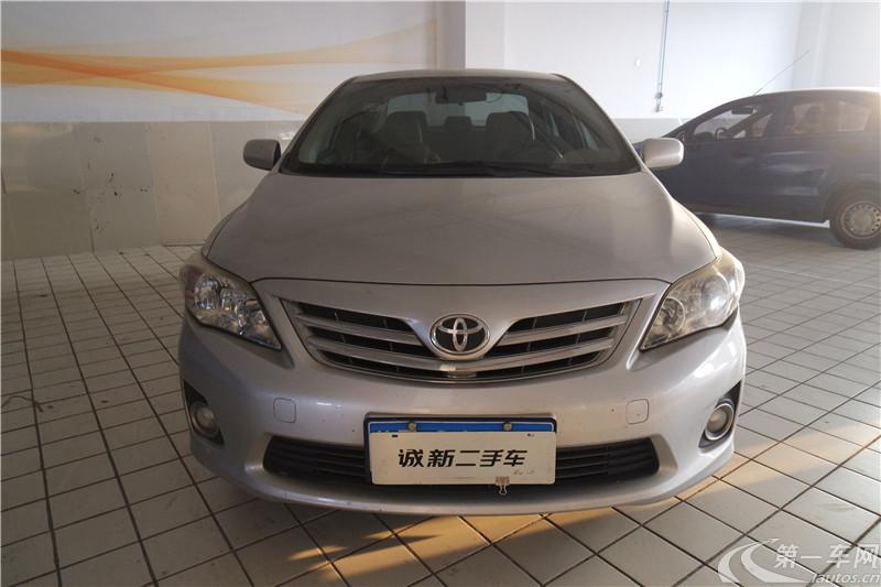 丰田卡罗拉 2011款 1.6L 自动 GL (国Ⅳ)