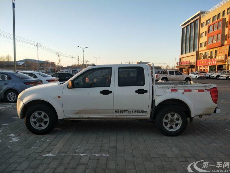 長城風駿 2011款 2.4L 手動 汽油 公務版大雙排豪華型 (國Ⅳ)