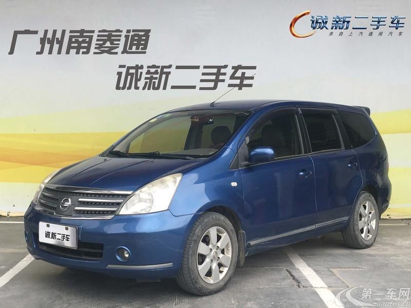 日产骏逸 2006款 1.8L 自动 7座 XL舒适型 (国Ⅲ)