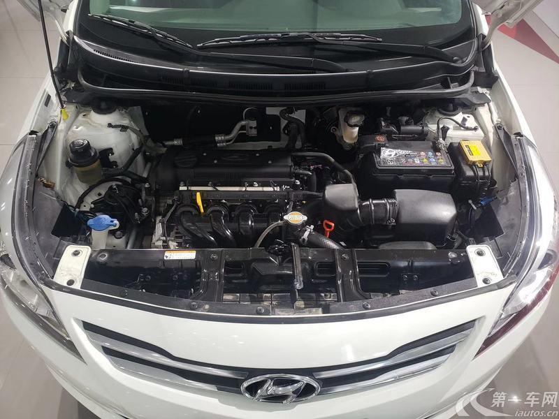 现代瑞纳 2014款 1.4L 自动 4门5座三厢车 领先型GLX (国Ⅴ)