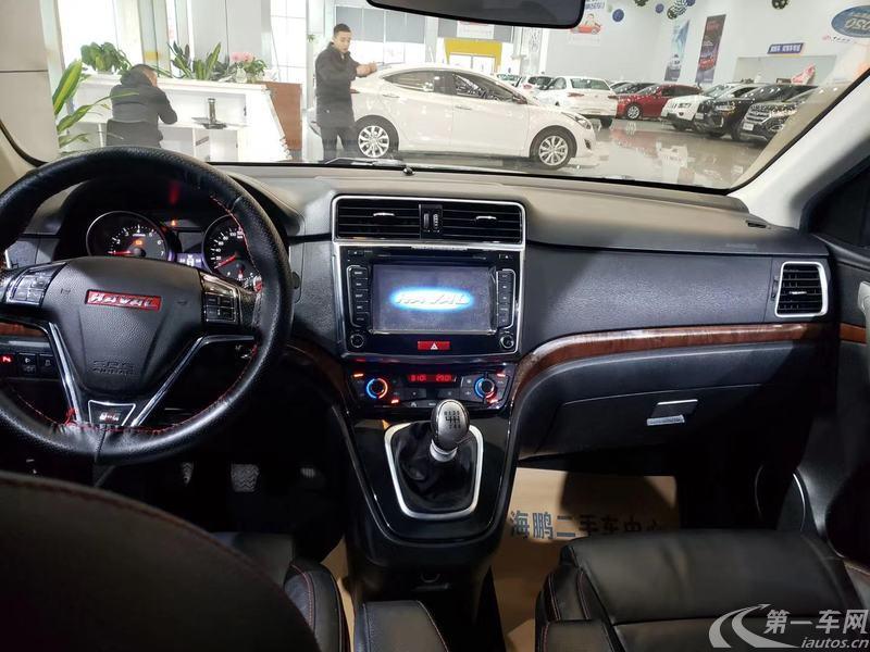 长城哈弗H6 2015款 1.5T 手动 前驱 运动版精英型 (国Ⅴ)