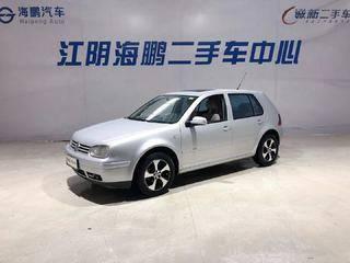 大众高尔夫 2006款 1.6L 手动 汽油 舒适型2V (国Ⅲ)