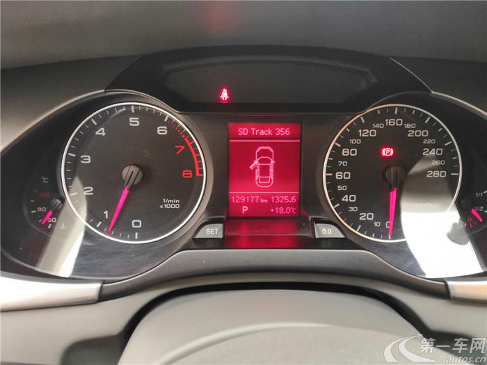 奥迪2012款 2.0T 自动 标准型 (国Ⅳ)