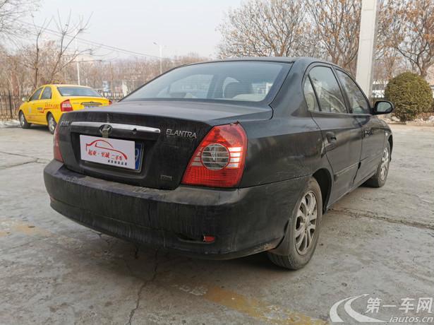 现代伊兰特 2008款 1.6L 手动 三厢轿车 GL清新版 (国Ⅲ)