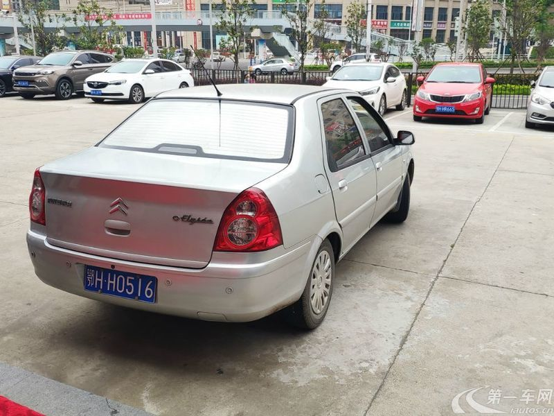 雪铁龙爱丽舍 2009款 1.6L 手动 尊贵型 (国Ⅳ)