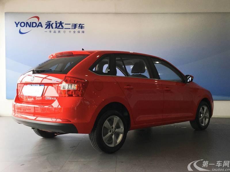 斯柯达昕动 2018款 1.6L 自动 舒适型 (国Ⅴ)
