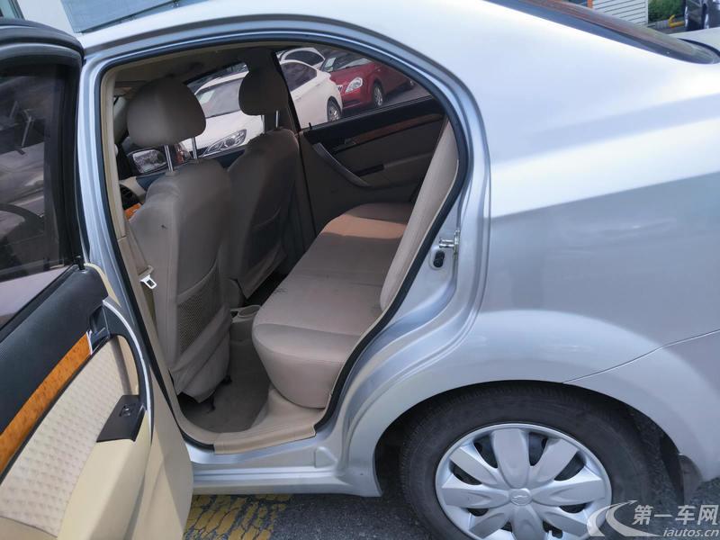 雪佛兰乐风 2009款 1.4L 自动 SL基本型 (国Ⅳ)