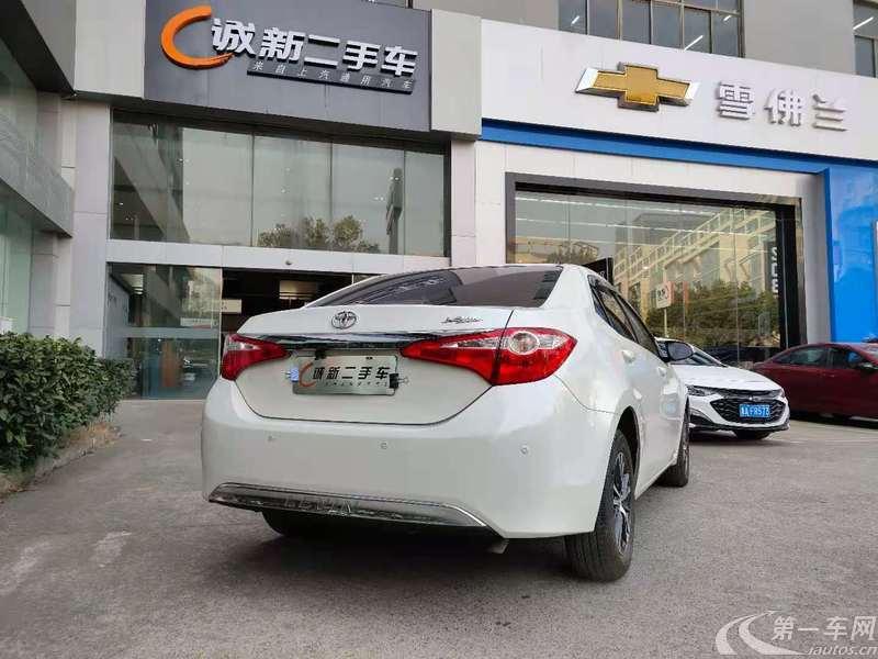 丰田雷凌 2014款 1.6L 自动 G-L领先版 (国Ⅴ)