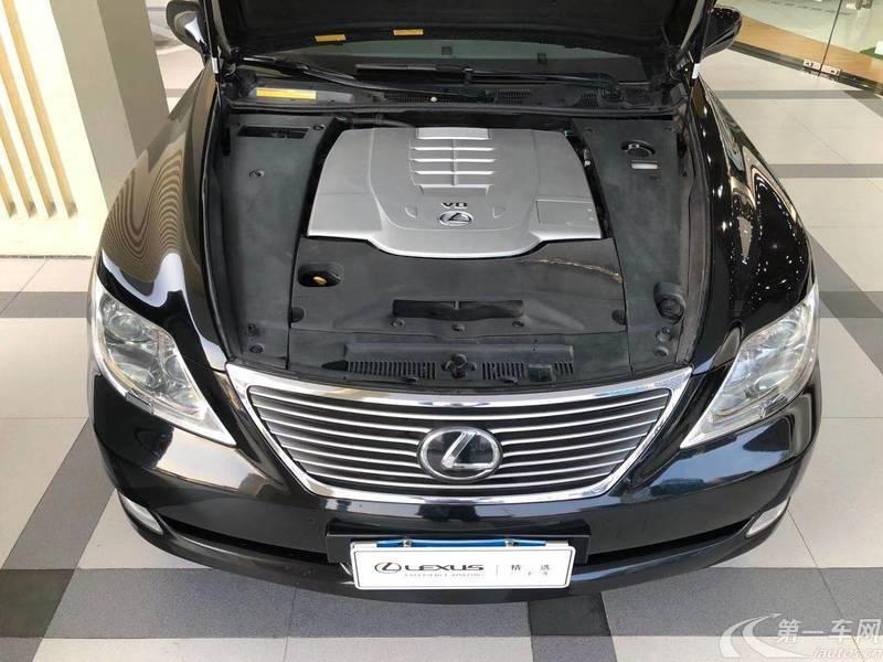 雷克萨斯LS 460 [进口] 2010款 4.6L 自动 尊贵加长版