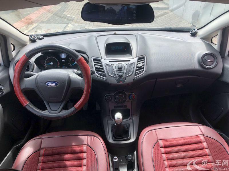 福特嘉年华 2013款 1.5L 自动 5门5座两厢车 劲动型 (国Ⅳ)